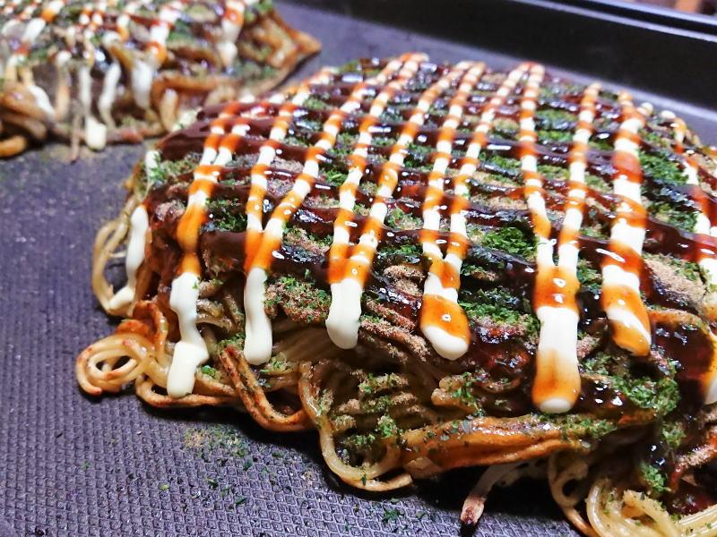 母の味は、広島+関西 お好み焼きの融合